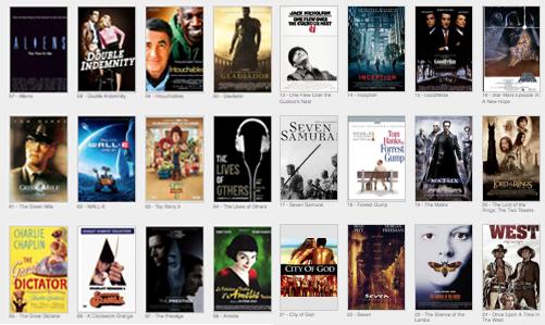 quantos filmes